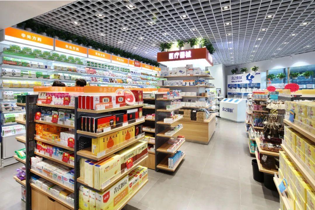 截至2018年底,中国药店总数为48.9万家